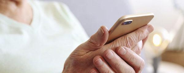 Smartphone pour personne âgée
