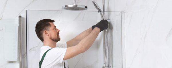 installation de sa douche